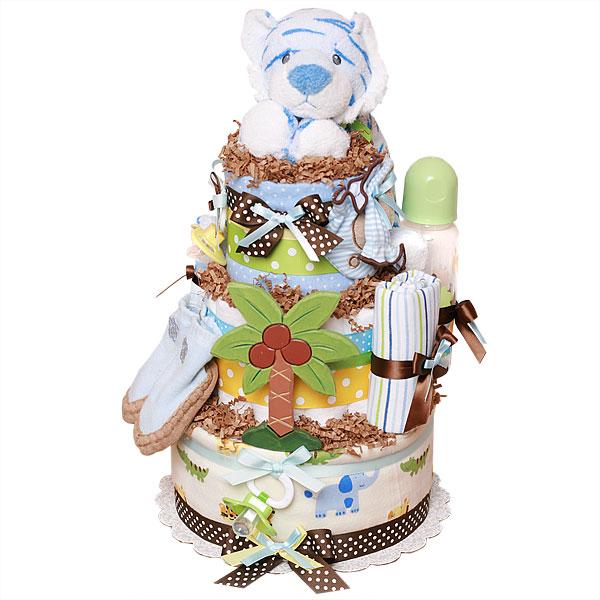 Palm Tree Diaper Cake Ideas And Designs